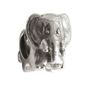 Jolie Elefant Silberkugel, Element, Figur, Charm, Bead in Silber ABK-039 von Jolie Collection