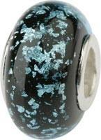 Murano Bead, Murano Glaskugel für Bettelarmband türkis, GPS 25 von Charlot Borgen Design