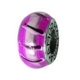 Piccolo Anhänger, Charm, Bead, Kugel APF 012 Emaillekugel mit Silberkern von Picccolo Schmuck