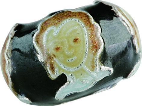 Emaillekugel mit Silberkern, Charlot Borgen Design
