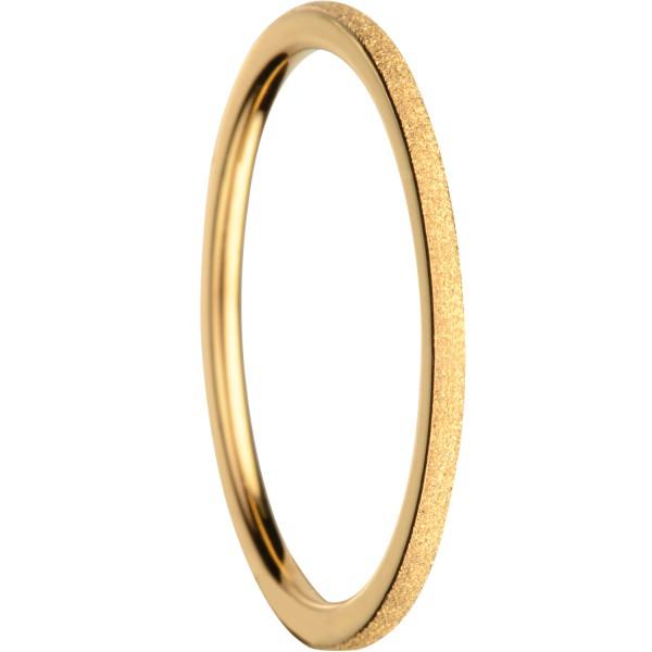 Bering 561-29-X0 Ring Innenring Ultra-Schmal Edelstahl goldfarben Sparkling Effekt