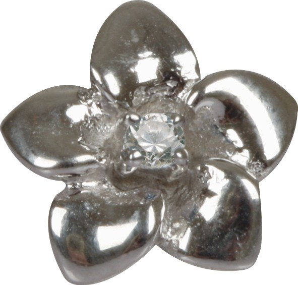 Grace CSS-01 Blume Silber Small Clip