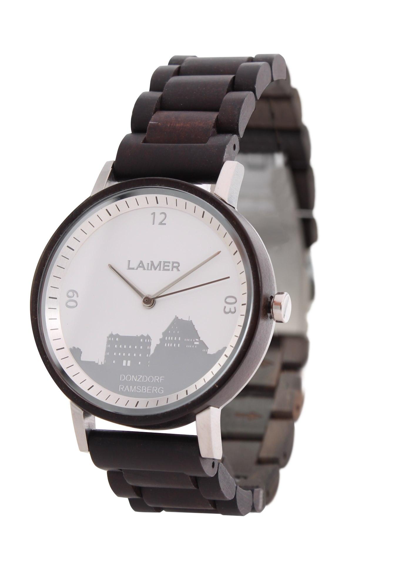 Herren HolzuhrenLaimer Marken Trend Schmuck Uhren Holzdesign OPukXTZi