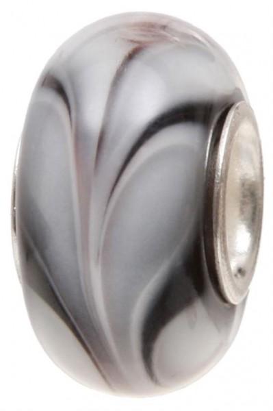 Piccolo Murano Bead, Charm, Muranoglaskugel, GPS 71 black von Piccolo das Original