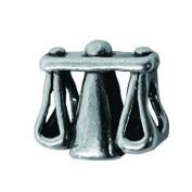 Piccolo Sternzeichen Beads, Waage, Charms, Bead Silber APR 026 von Piccolo das Original