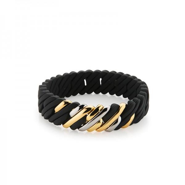 The Rubz Armband Pixel Mini Farbe Black & Metal Mix 100269 Kettenarmband