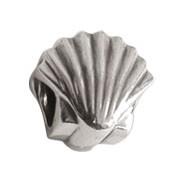 Jolie Muschel Bead, Anhänger, Charm, Silberkugel, Element in Silber ABK 057 v Jolie Collection