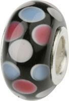 Murano Bead, Murano Glaskugel für Bettelarmband rosa, GPS 20 von Charlot Borgen Design