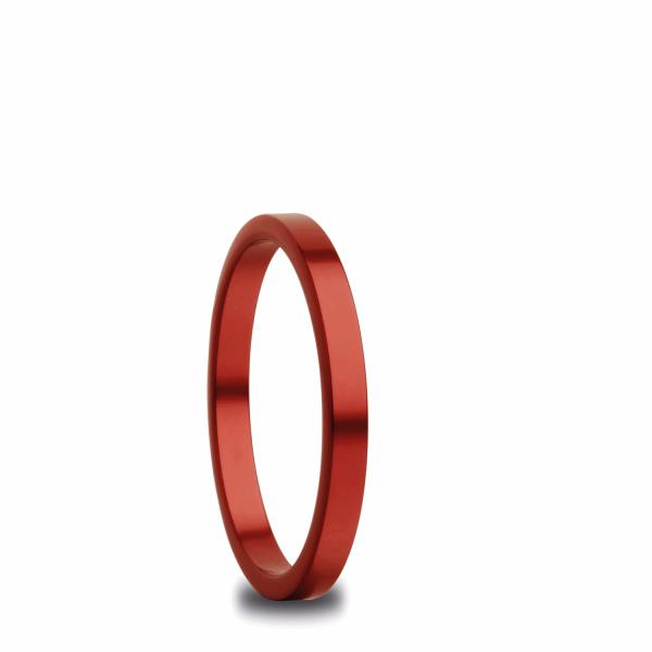 Bering 554-49-X1 Kombinationsring Innenring Schmal Aluminium Rot