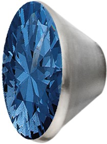Melano Edelstahl Fassung Aufsatz M01SR 4066 für Ring von MelanO Schmuck Kollektion