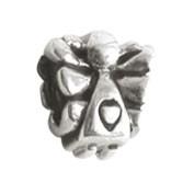 Jolie Engel mit Herz Silberkugel, Element, Figur, Charm, Bead ABK-013 von Jolie Collection Schmuck