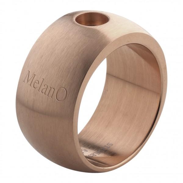 Melano Ring von MelanO Magnetic Schmuck in Edelstahl beschichtet rosé matt 10mm & 12mm M01R 001-003