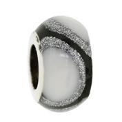 Jolie Element Silber mit Emaille Anhänger, Kugel, Charm, Bead Silber ABF 056 von Jolie Collection