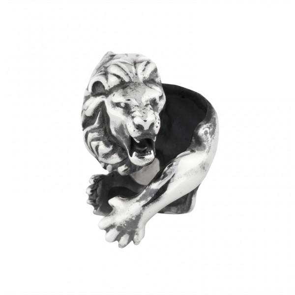 Panther Anhänger Black Rock Large / Men 15 00996 71 001 fürs Armband von Rebeligion True Silver-Copy