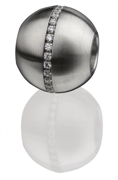 Ernstes Design Wechselhülse / Anhänger EDvita AN233.WH für Armbänder und Ketten
