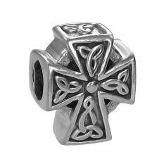 Kreuz als Anhänger in Silber für Männer Modischer Männerschmuck Für Hals und Armkett-Copy