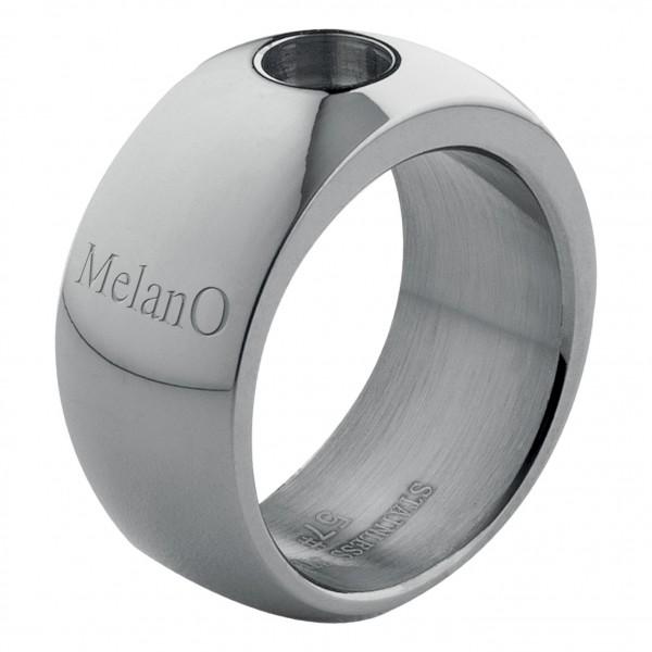 Melano Ring von MelanO Magnetic Schmuck in Edelstahl glänzend 10mm & 12mm