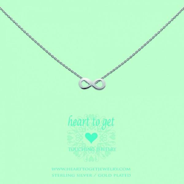 """Heart to get Anhänger Symbol """"Unendlichkeit"""" Silber S173INF13S"""
