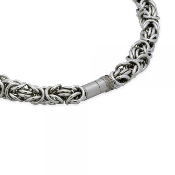 Ernstes Design EDvita Königskette K105 Edelstahl mit Magnetverschluss
