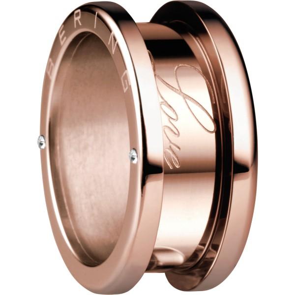 Bering 520-30-X4 Kombinationsring Basisring / Außenring Breit Edelstahl rosé