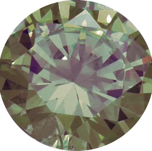 Melano Zirkonia Stein olive für Cameleon Ring