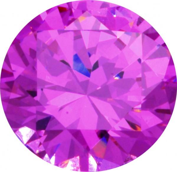 Melano Zirkonia Stein pink für Cameleon Ring