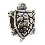 Jolie Schildkröte Bead, Anhänger, Charm, Silberkugel, Element in Silber ABK 051 von Jolie Collection