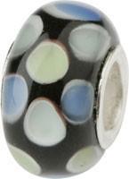 Murano Bead, Murano Glaskugel für Bettelarmband grün, GPS 20 von Charlot Borgen Design