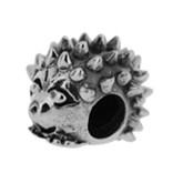 Piccolo Schmuck Igel Anhänger, Charm, Bead in Silber APR 086 Figuren von Piccolo das Original