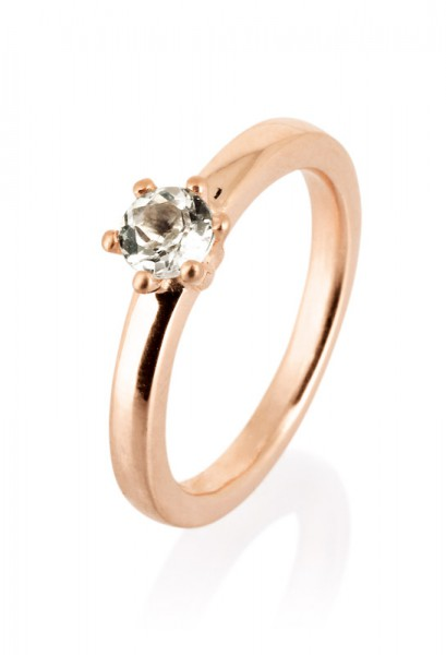 heartbreaker designed by Drachenfels style & go-Steckring / Vorsteckring rosé + Stein LD MR 17 RG