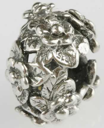 Silberkugel geschwärzt, Beads, Charms, Charlot Borgen Design