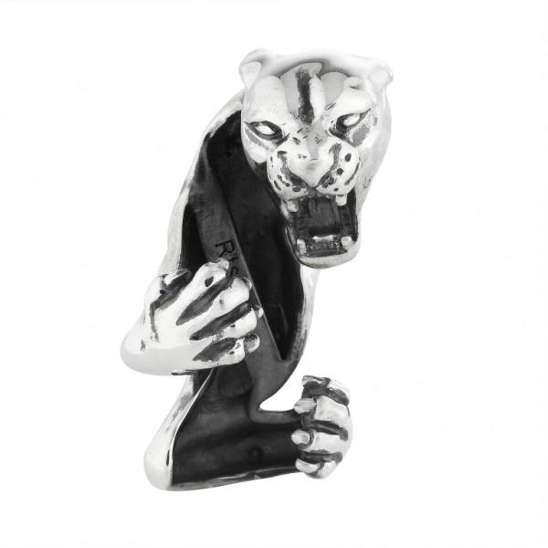 Panther Anhänger Black Rock Large / Men 15 00991 71 001 fürs Armband von Rebeligion True Silver