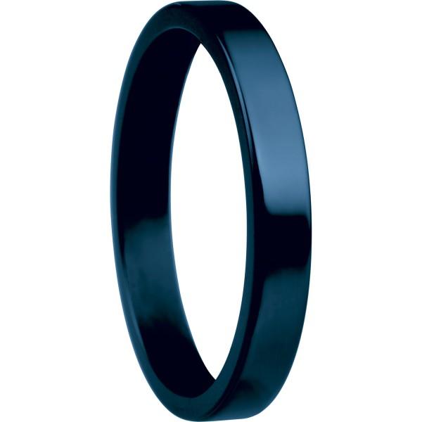 Bering 554-70-X1 Kombinationsring Innenring Schmal Keramik Blau
