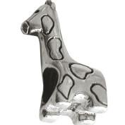 Jolie Giraffe Silberkugel, Element, Figur, Anhänger, Charm, Bead ABK-014 von Jolie Collection Schmuc