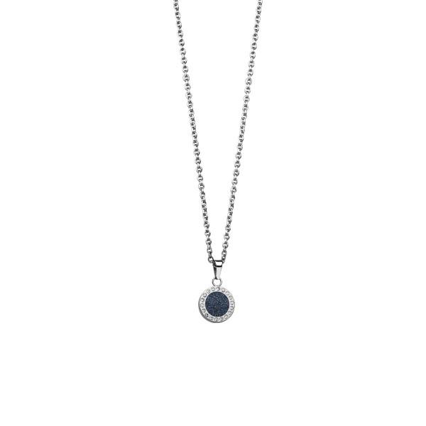 Bering, Arctic Symphony Collection,Collier, Halskette mit Anhänger, Edelstahl / Zirkonia