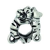 Piccolo Schmuck Katzen Anhänger, Charm in Silber APG 040 Figuren von Piccolo das Original