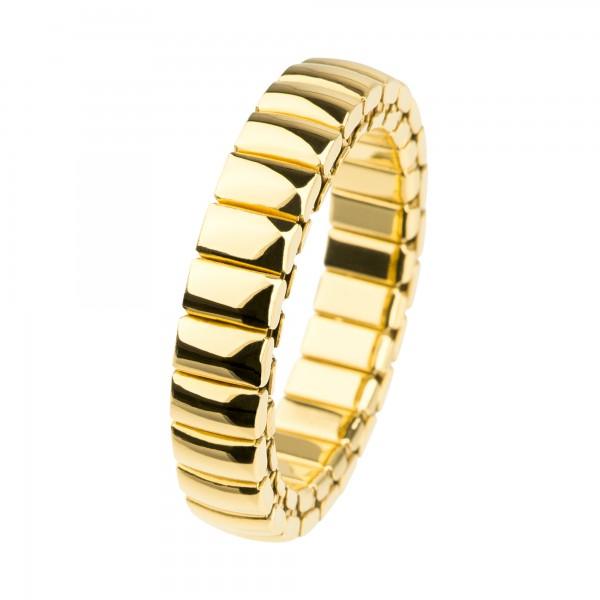 Ernstes Design EDvita Vorsteckring / Beisteckring / Flexring Edelstahl goldfarben poliert R313
