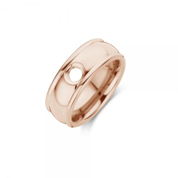 Melano Vivid Ring Notch Edelstahl rosé VR09