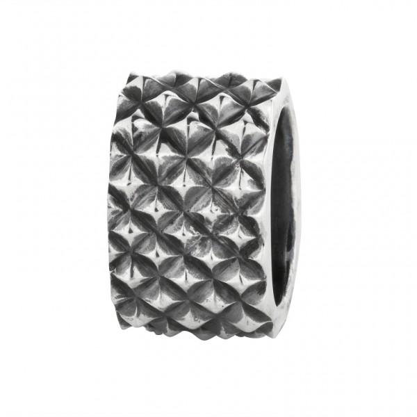 Rebeligion Anhänger Add On Nietenmosaik Large / Men Black Rock 15 1006 71 001 fürs Armband