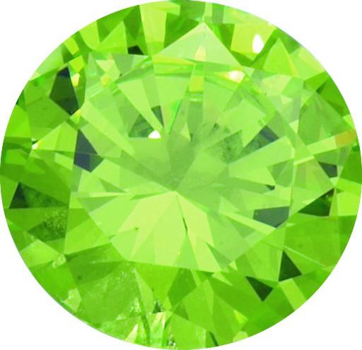 Melano Zirkonia Stein lime für Cameleon Ring