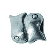 Piccolo Sternzeichen Beads, Fische, Charms, Bead Silber APR 019 von Piccolo das Original