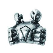 Piccolo Sternzeichen Beads, Krebs, Charms, Bead Silber APR 023 von Piccolo das Original