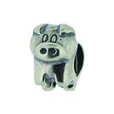 Piccolo Schmuck Schweinchen Silber Anhänger, Charm, Bead, APG 006 Silber Figuren von Piccolo das Ori