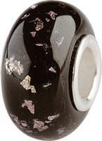 Murano Bead, Murano Glaskugel für Bettelarmband violett, GPS 25 von Charlot Borgen Design