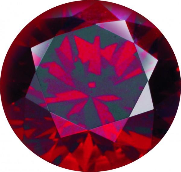 Melano Zirkonia Stein Dunkel Rot für Cameleon Ring M01CZ dark red 08MM - 10MM