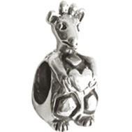 Jolie Silberkugel, Element, Figur, Charm, Anhänger Bead ABK-019 von Jolie Collection Schmuck