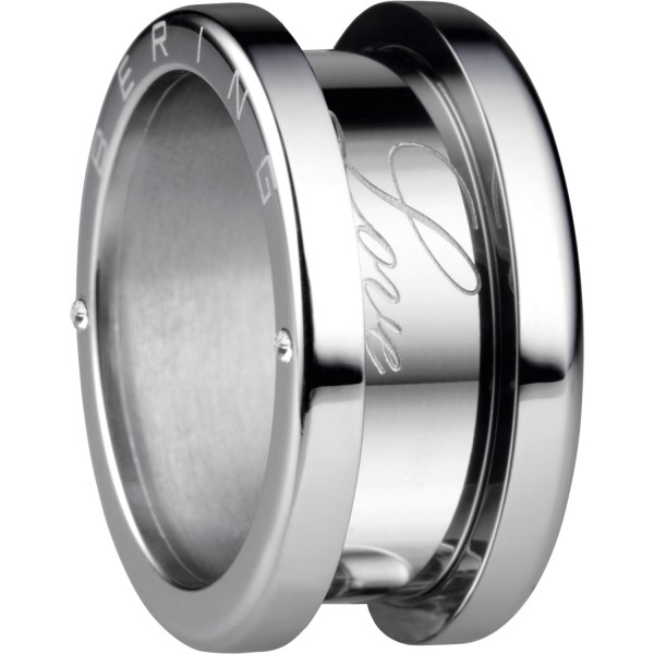 Bering 520-10-X4 Kombinationsring Basisring / Außenring Breit Edelstahl