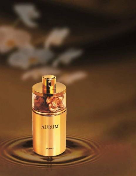 Ajmal Eu de Parfum Aurum, Duft, Jasmin, Vanille, Zitrone, Moschus, Himbeere, Orange, 75 ml