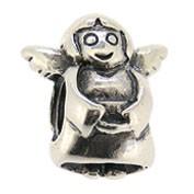Jolie Engel Silberkugel, Element, Figur, Anhänger, Charm, Bead ABK-004 von Jolie Collection Schmuck