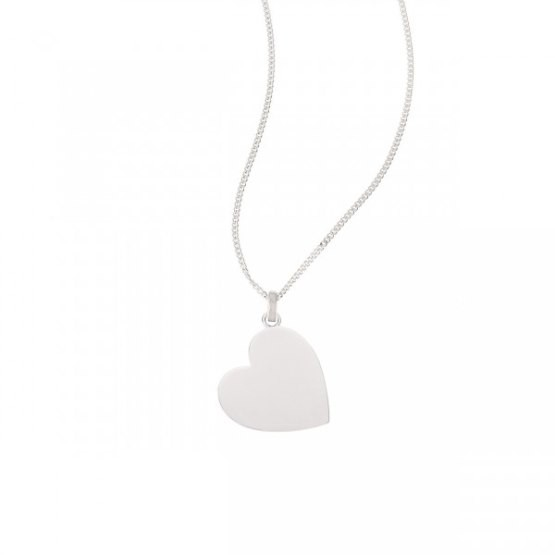 "So Cosi ""Love is all around"" Halskette, Collier, Anhänger + Kette Silber ohne Gravur PI-005-2"